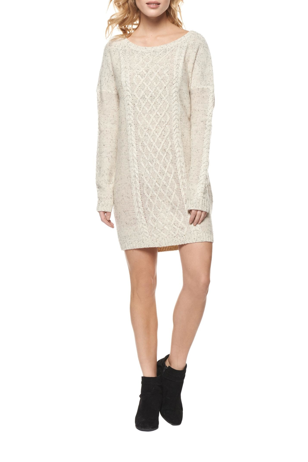 Dex Speckled Sweater Dress - Main Image