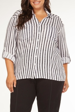 Shoptiques Product: Stripe Button Up