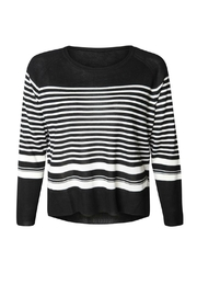 Dex Striped Sweater - Product Mini Image