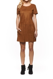 Dex Suede Shift Dress - Product Mini Image