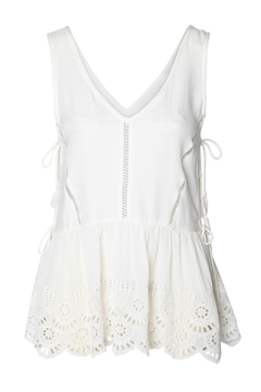 Shoptiques Product: Summer Eyelet Tank