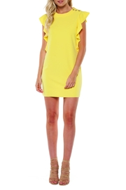 Dex Sunshine Flutter Dress - Product Mini Image
