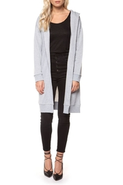 Dex Sweatshirt Cardigan - Front cropped