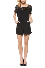 Dex Sweetheart Romper - Front cropped