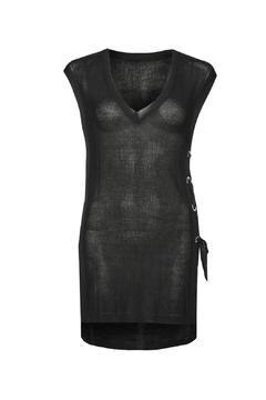 Shoptiques Product: Black Sleeveless Tunic