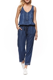 Dex Tencel Blue Jumpsuit - Product Mini Image