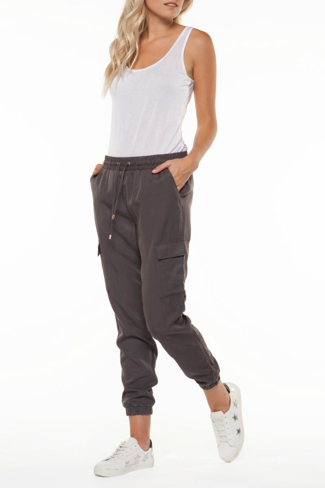 Dex Tencel Cargo Pants - Front Cropped Image