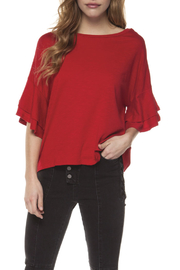 Dex Tiered Sleeve Top - Product Mini Image