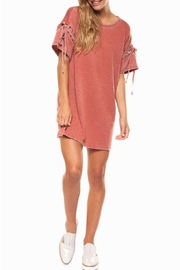Dex Eyelet Tunic Top - Product Mini Image