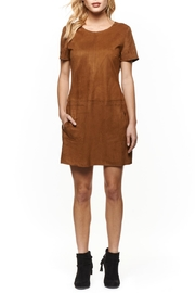 Dex Ultra Suede Dress - Front cropped