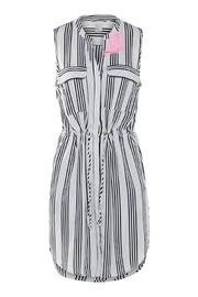 Dex Variegated Stripe Dress - Product Mini Image