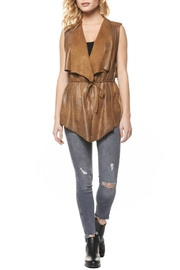 Dex Vegan Leather Vest - Product Mini Image
