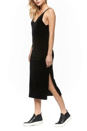 Dex Velvet Bodycon Dress - Front cropped