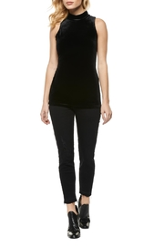 Dex Velvet Mock-Neck Tank - Product Mini Image