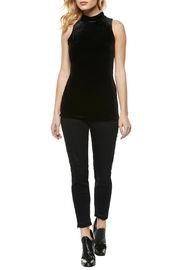 Dex Velvet Mock Neck Top - Product Mini Image