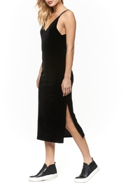 Dex Velvet Spaghetti-Strap Dress - Front cropped