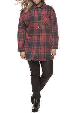 Dex Vintage Red Plaid Top - Product List Image