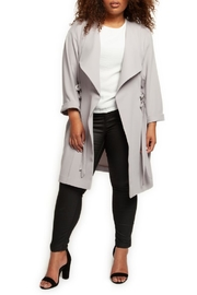 Dex Waterfall Duster Coat - Product Mini Image