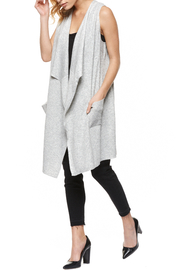 Dex Waterfall Sweater Vest - Front cropped