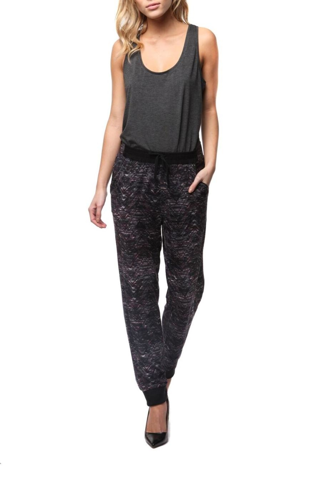 Dex Zig Zag Pant - Front Cropped Image