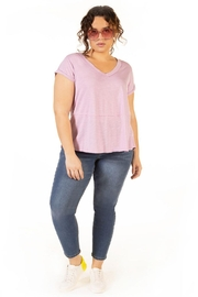 Dex Clothing Short Sleeve Slouchy Tee - Back cropped