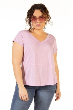 Shoptiques Product: Short Sleeve Slouchy Tee