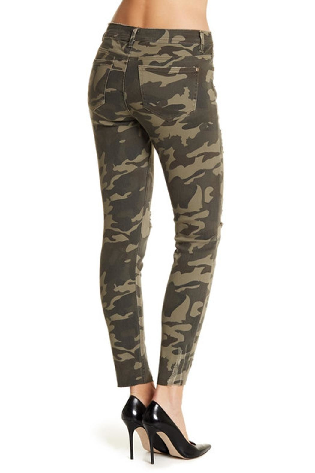 DEX Jeans Camo Skinny Jeans - Front Full Image