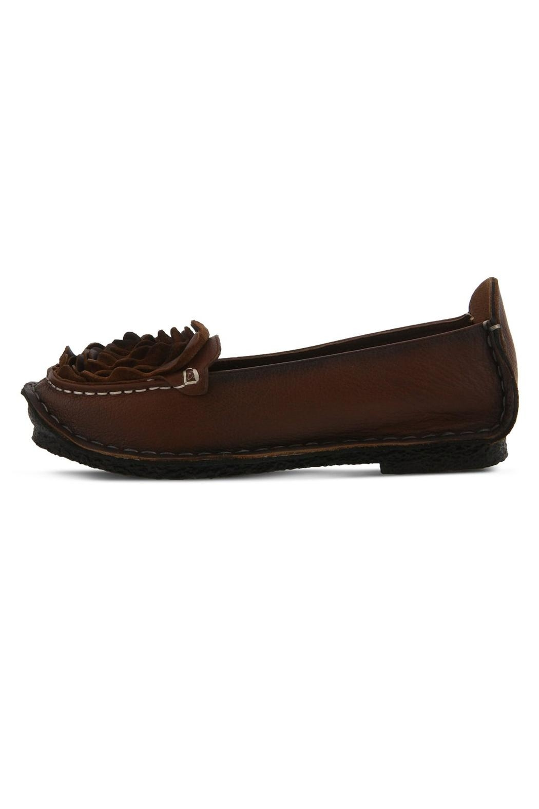 L'Artisan Dezi Slip-On Flats - Front Cropped Image