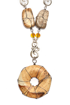Creative Treasures Utah Rock Necklace - Product List Image