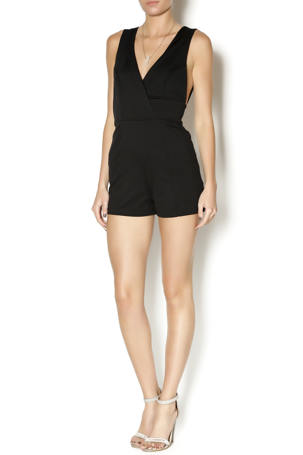 Mystic Sleeveless Black Romper From New York City By Dor L