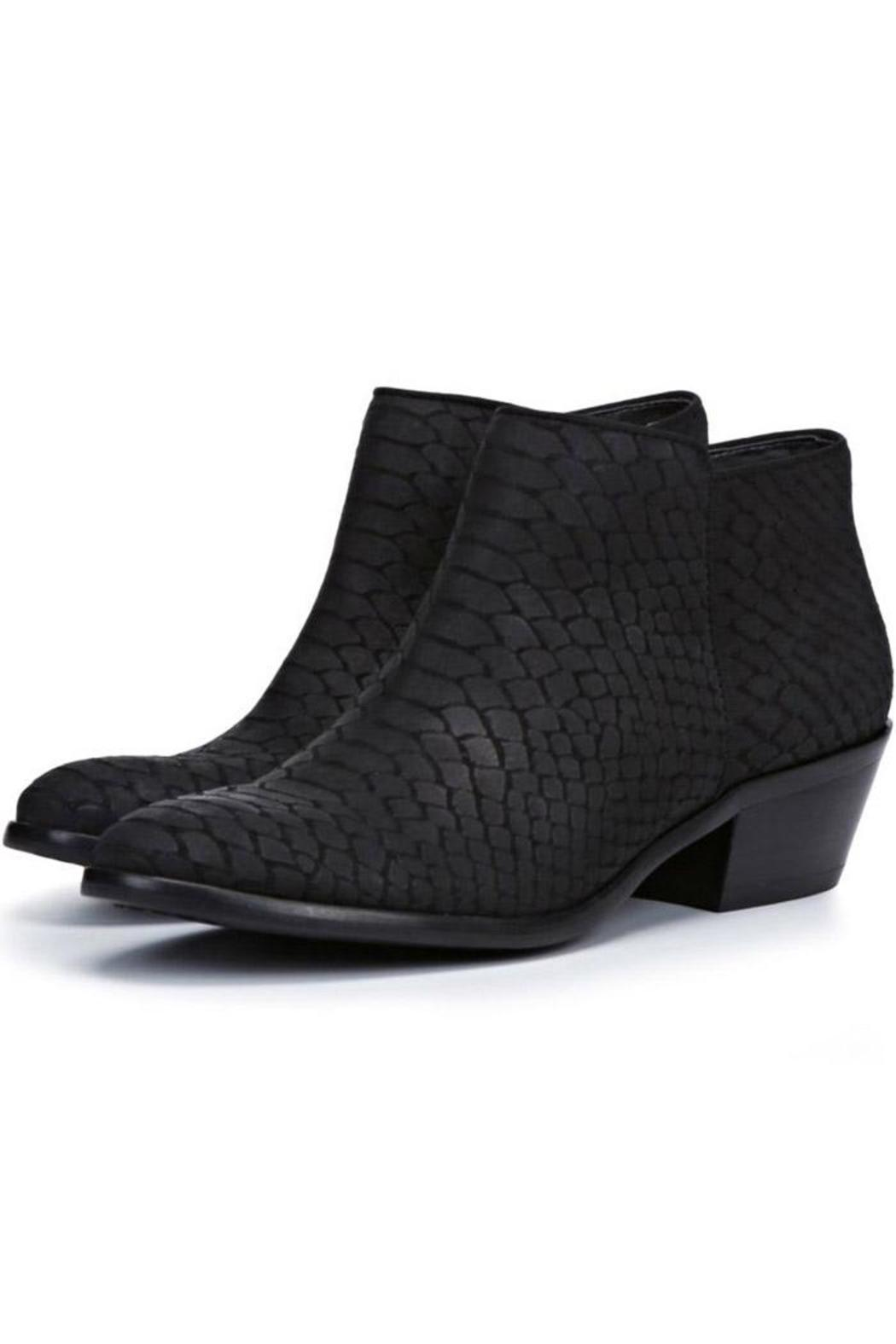 0d6732ed7 Sam Edelman Petty Snakeskin Bootie from Lafayette by Brothers on the ...