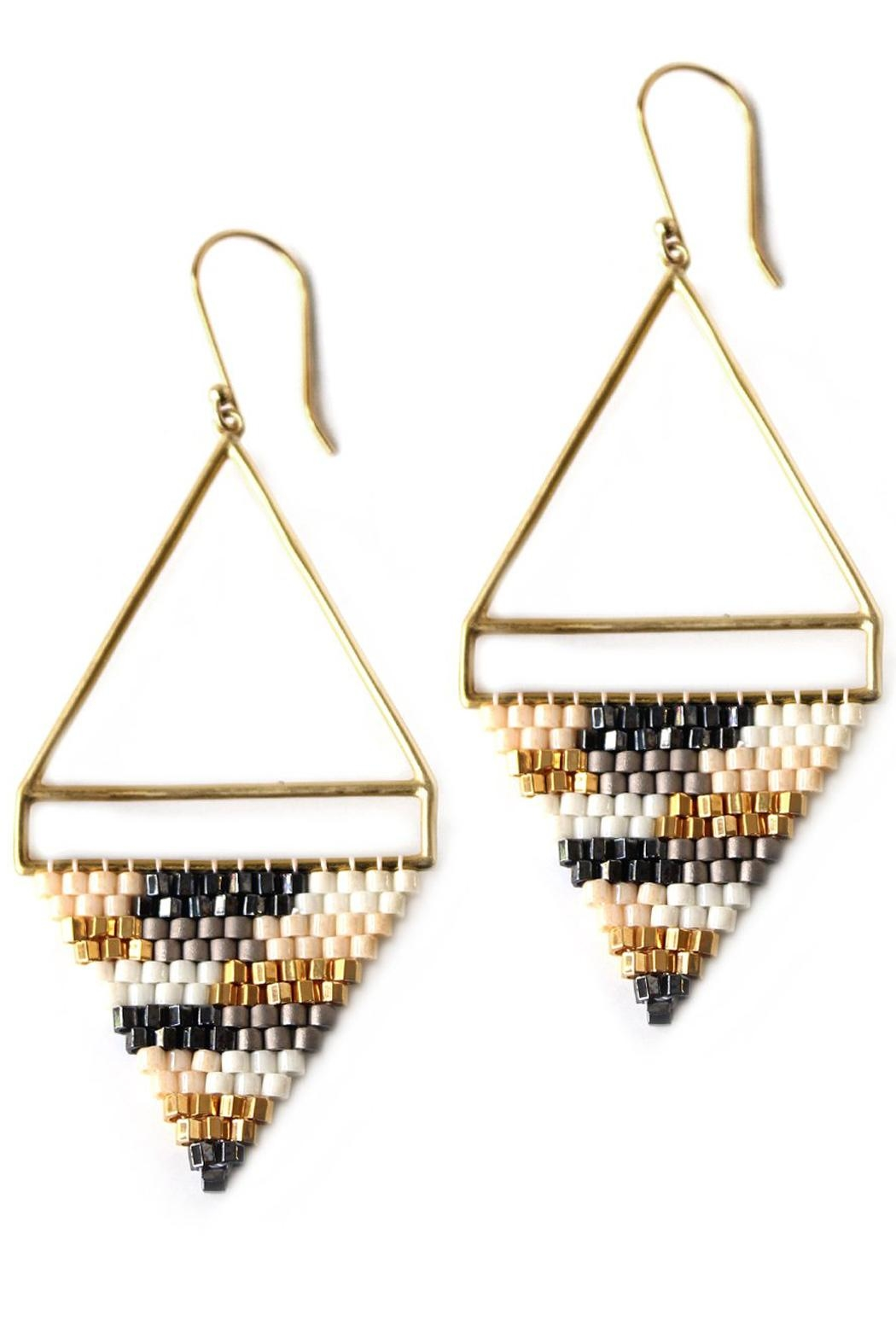 Bluma Project Dhani Beaded Earrings - Front Cropped Image