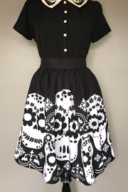Steady Clothing Dia-De-Los-Muertos Skirt - Product Mini Image