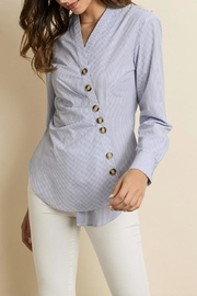 dress forum Diagonal Buttoned Shirt - Product Mini Image