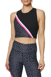 Betsey Johnson Diagonal Colorblock Extended Bra - Product Mini Image