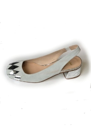 French Sole Dial Slingback Pump - Product Mini Image