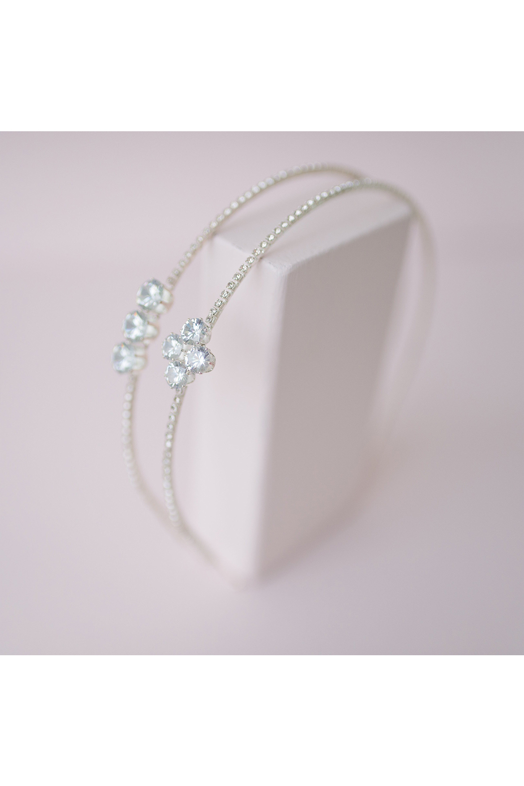 Great Pretenders  Diamante Headband - Front Full Image