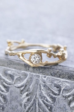 Shoptiques Product: Diamond Branch Ring