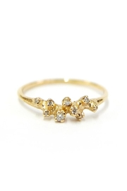 n+a new york Diamond Cluster Ring - Front cropped