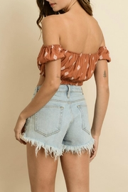 Pretty Little Things Diamond Crop Top - Front full body