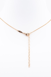 Jacquie Aiche Diamond Cross Necklace - Side cropped