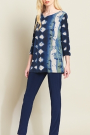Clara Sunwoo Diamond Denim Tunic - Product Mini Image