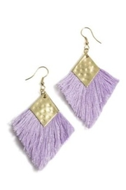 Shiraleah Diamond Fringe Earring - Product Mini Image