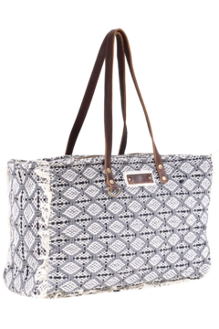 Shoptiques Product: Diamond Grey Weekender Bag