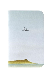 Bradley & Lily Diamond Head Aloha Mini Notebook - Product Mini Image