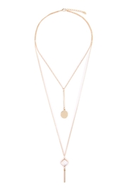 Riah Fashion Diamond Layering Necklaces - Product Mini Image