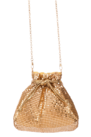 FAME ACCESORIES Diamond Purse - Front full body