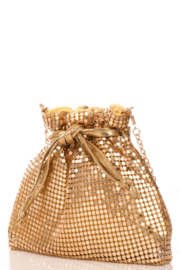 FAME ACCESORIES Diamond Purse - Front cropped