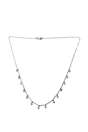 Lets Accessorize Diamond-Shaped Tiny-Charm Necklace - Front cropped
