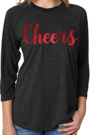 DIAMOND DIVA DESIGNZ Cheers Raglan Tee - Product Mini Image